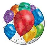Creative Converting 427800 Dinner Plate Balloon Blast