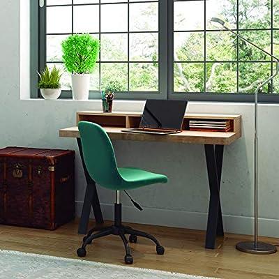 Adec - X-Loft, Mesa Estudio con Estante Elevado, Mesa de Despacho ...