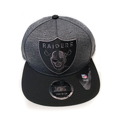 New Era NFL Oakland Raiders Heather Huge Snap 9Fifty for sale  Delivered anywhere in USA