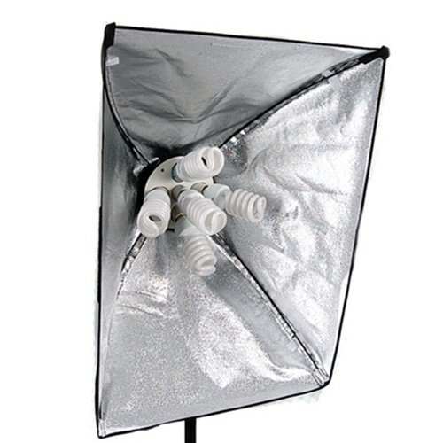 CowboyStudio 2275 Watt Digital Video Continuous Softbox Lighting Kit with Boom and Carrying Case