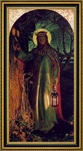 The Light of the World by William Holman Hunt - 6