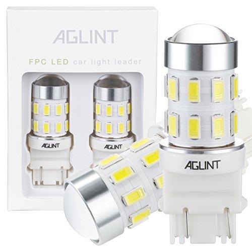 AGLINT 3157 LED Bulb Super Bright 6000K 12V 24V 3056 3156 3057 4157 LED for...