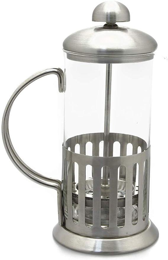 Ossian Glass Cafetière - Cafetera continental de acero inoxidable ...