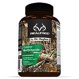 Cheap Realtree Daily Multivitamin | Antioxidant: Vitamin C (5X), Vitamin E (2X) | Energy Max: Vitamin B12 | Eye Health: Vitamin A (2X) | Probiotics | Vitamin D | NSF Certified | Proprietary Blend