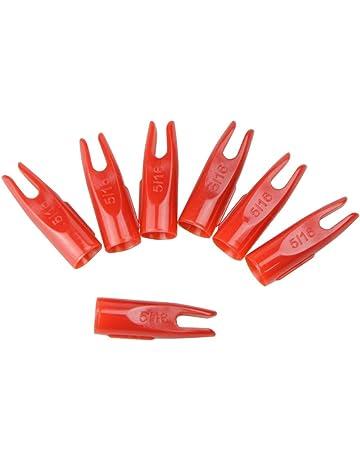 Pin Nock Pfeilschaft Packung mit 10 Stück Bogenschießen Nocken