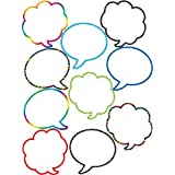 Teacher Created Resources Speech/Thought Bubbles Accents (5047),Multi Color