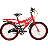 Avon Bounce Cycle for Boys - Florescent Red/Black