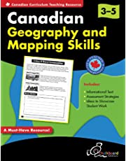 Canadian Geography & Mapping Skills Grades 3-5