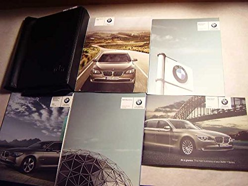2009 BMW 750i 750 Li Owners Manual