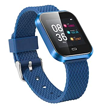 Amazon.com: NXDA CD16 Heart Rate Activity Step Counter Calorie Plating Smart Bracet For Kids Women Men for iOS Android Smartphones (Blue): Beauty