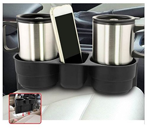 KOVOT Car Valet - Auto Front Seat Organizer And Cup Holder