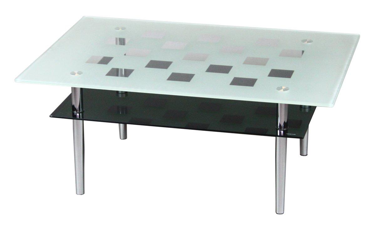 【サンニード】強化ガラス ガラス テーブル GT-80-34 長方形 R-S1 B01623NCLC スクエア スクエア