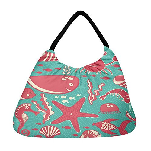 Snoogg mehrfarbig Damen Snoogg Damen Strandtasche Strandtasche mehrfarbig mehrfarbig O4PBR