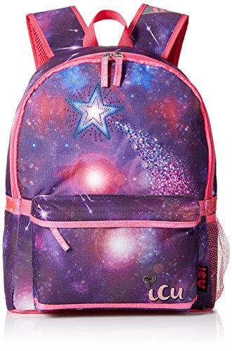 Girls Galactic Shooting Backpack Multi
