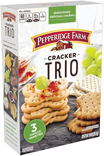 Pepperidge Farm, Crackers, Trio Variety, 10 oz., Box