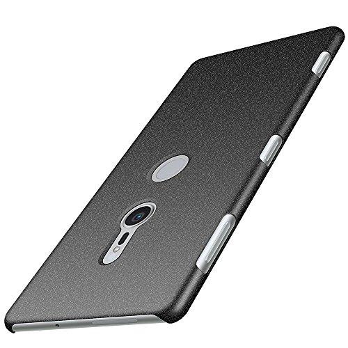Anccer Sony Xperia XZ2 Case [Colorful Series] [Ultra-Thin] [Anti-Drop] Premium Material Slim Cover for Sony Xperia XZ2 2018 (Gravel Black)