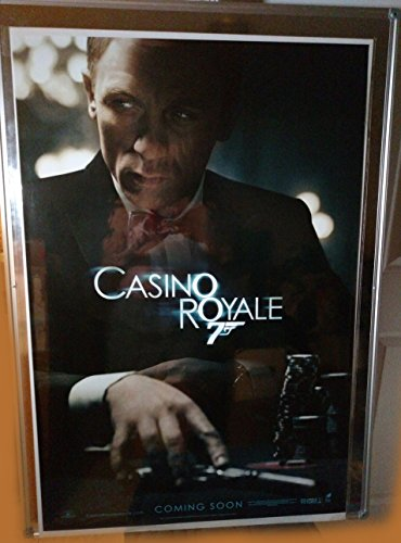 Original Casino - Casino Royale Daniel Craig Eva Green Original Advance Double Sided Rolled 27x40 Movie Poster 2006