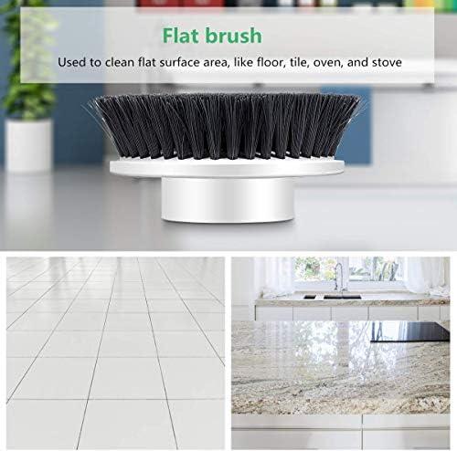 MECO ELEVERDE 4PCS Cepillos de Limpieza Reemplazo del Cepillo de Limpieza eléctrico: Amazon.es: Hogar