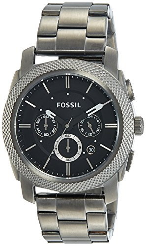 Fossil Men's FS4662 Machine Chronograph Stainless Steel W...