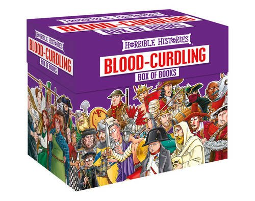 Blood-curdling Box of Books (Horrible Histories Collections)