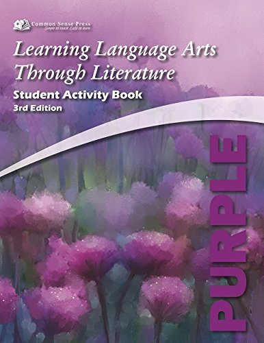 Read Online Learning Language Arts Through Literature, The Purple Book: Student  Activity Book, 3rd Edition ebook