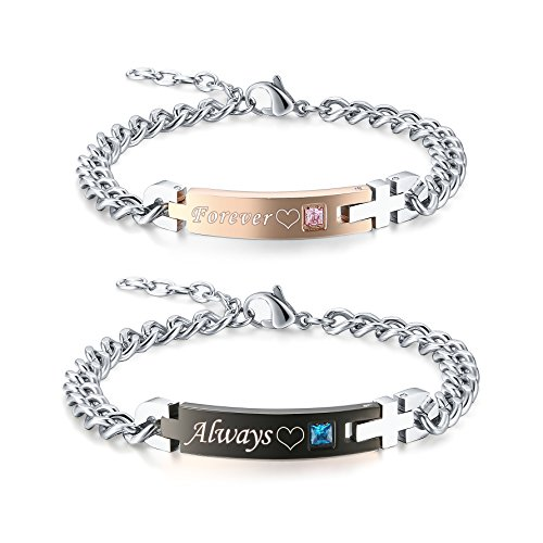 Where to find couples bracelets stainless steel?