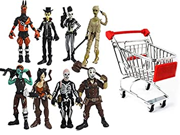 Figura de acción de PVC de Fortnite de dibujos animados, 8 muñecas, regalo de