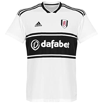 Adidas 2018-2019 Fulham Home Football Soccer T-Shirt Camiseta: Amazon.es: Deportes y aire libre