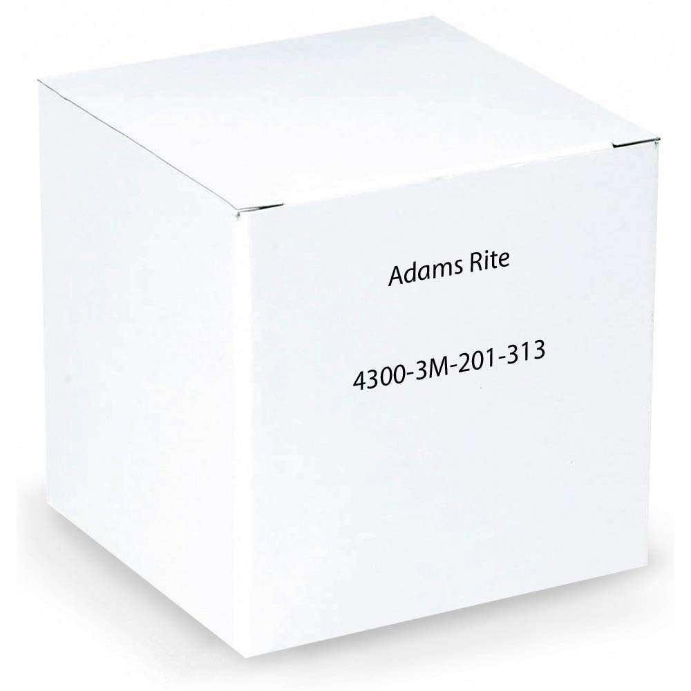 Adams Rite 4300-3M-201-313 Monitored Steel Hawk eLatch Electrified Deadlatch (1-1/8'' Backset)