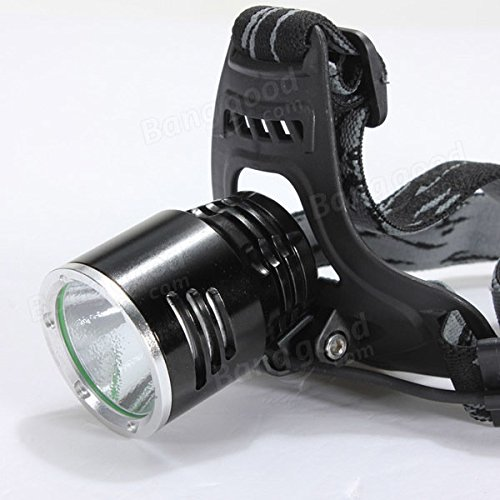 1600Lm XML T6 Rechargeable LED Headlamp 18650 A2 + AC Charger by Freelance Shop SportingGoods (Image #4)