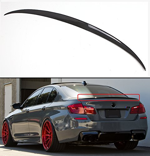 (Cuztom Tuning for 2011-16 BMW F10 5 Series 535i 528i Carbon Fiber M5 OE Style Trunk Spoiler)