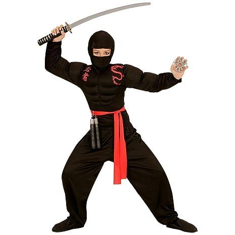 traje Vestido traje disfraz de carnaval Niño Super Ninja ...