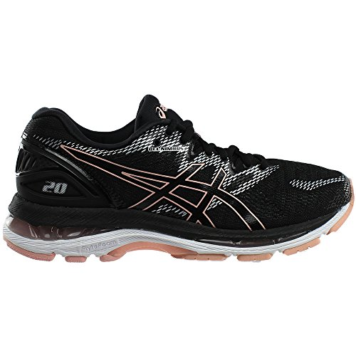 Running Gel Black Women's Frosted ASICS Rose Nimbus 20 Shoe qpZxUI