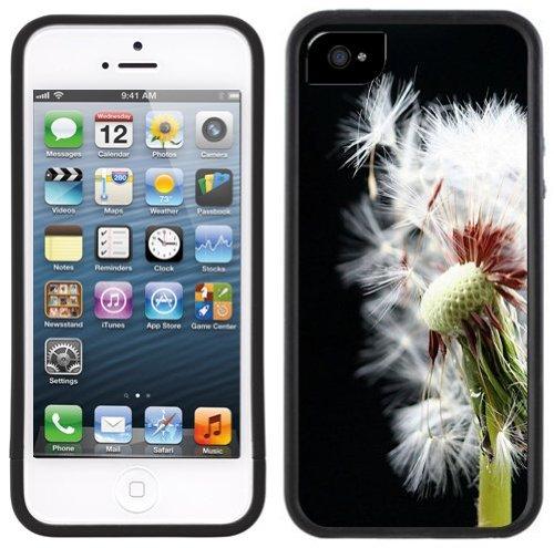 Löwenzahn | Handgefertigt | iPhone 5 5s | Schwarze Hülle