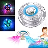 Bathroom LED Flash Light KingNew Toy Kid Color Changing Waterproof in Tub Bath Time Fun