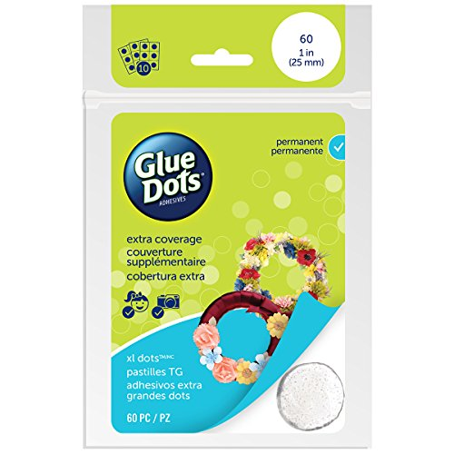 Glue Dots Permanent Adhesive Dot Sheets, Extra Large,