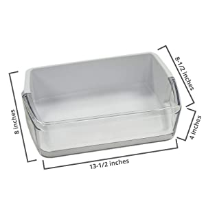 DA97-06419C Door Shelf Basket Bin (Right) for Samsung Refrigerator - DA63-04314