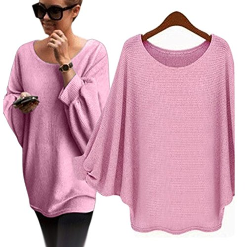 Chandail Batwing Tricot Oversized Femmes OverDose 5nwqOf8CH