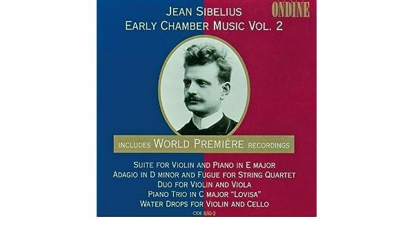 Sibelius water drops