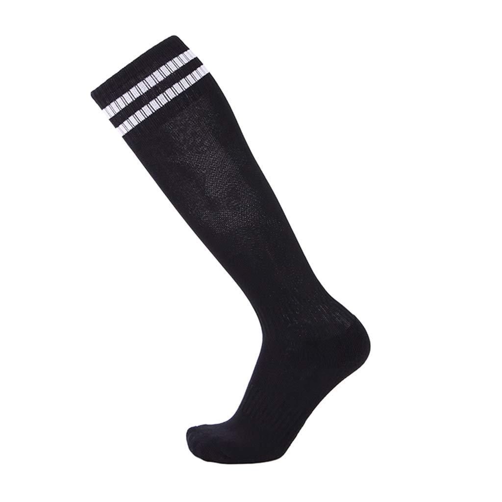 WanYangg Unisex Adult Thickened Football Socks Knee Socks Breathable Non-Slip Stockings Grips Socks Football//Rugby//Hockey Tube Hoses Sport Socks Elasticity