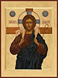Christ ''The Good Shepherd'' Traditional Panel Russian Orthodox icon