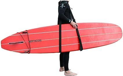 Northcore Tragegurt Für Sup Und Surfboard Für Erwachsene Unisex Schwarz Schwarz Einheitsgröße Sport Freizeit