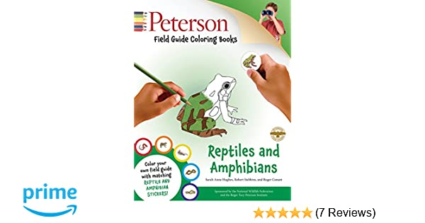 Peterson Field Guide Coloring Books Reptiles And Amphibians