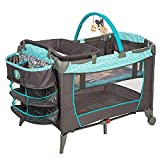 Disney Baby, Infant Play Yard, Play Pen With Changing Station (Geo Pooh)