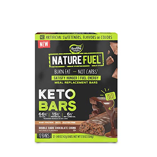 Nature Fuel Keto Bars – Double Dark Chocolate Chunk