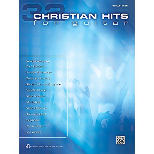 Alfred 32 Christian Hits for Guitar Book (Matt Smith Artist)