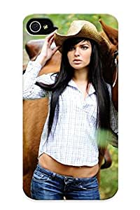 Hu Xiao case Women Horses Compatible With Iphone 4/4s protective w09j5yKNBPz case cover
