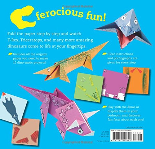 Fun Origami For Children Dino 12 Daring Dinosaurs To Fold Mari Ono Hiroaki Takai 9781782494669 Amazon Books
