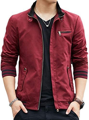 チーアン Tiann メンズ ジャケット ジャンパー ブルゾン アウター カジュアル アウトドア ジャケット 通勤 ジャージー 長袖