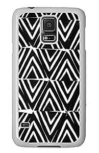 Cheap price Samsung Galaxy S5 cover Black White Chevron PC White Custom Samsung Galaxy S5 Case Cover